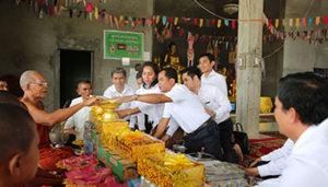 PRASAC Joined 10th Ben at Serey Sophea Pagoda