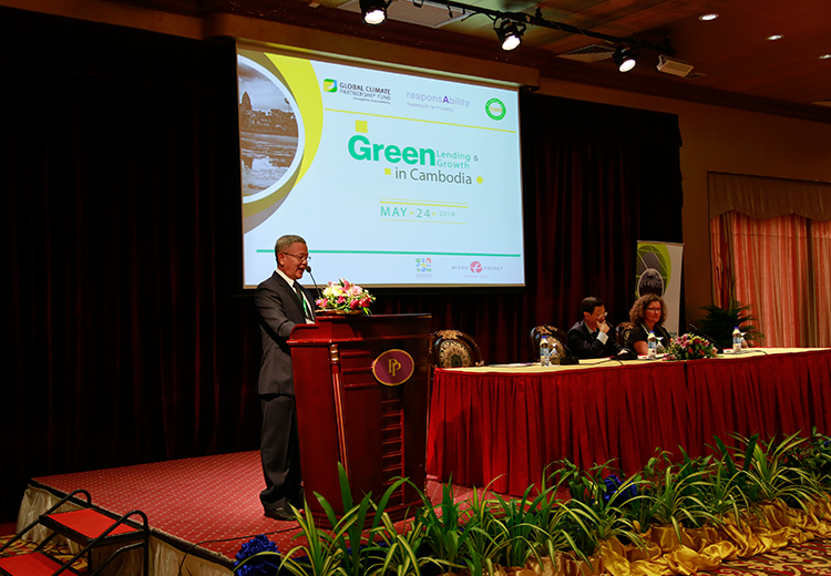 PRASAC and responsAbility Promote Green Lending in Cambodia