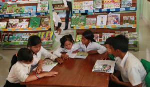 PRASAC Installs More Than 70K Reading Books to Its 30 Libraries