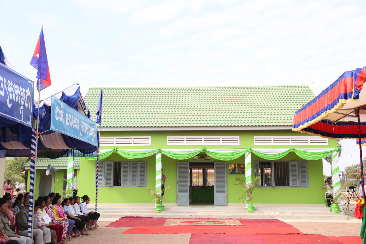 Prasac inaugurated new library in Chamkardong School