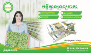 PRASAC Provides Loan with No Collateral to Boost People Living Condition