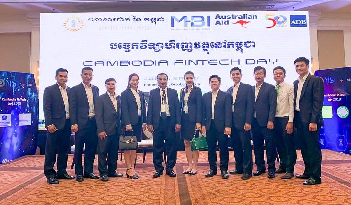PRASAC Participates In Cambodia FinTech Day' 2019