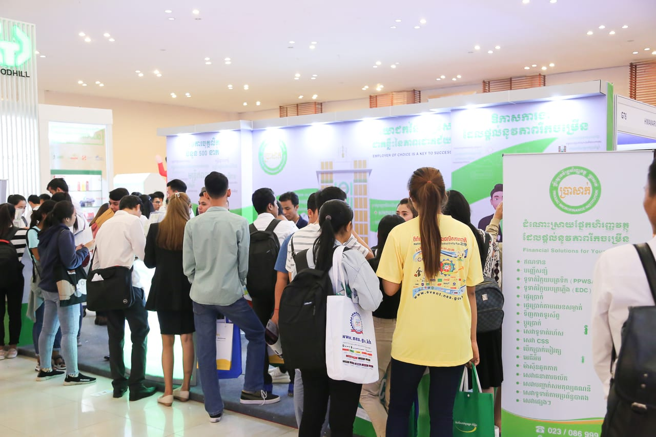 PRASAC Attracts Many Applications in National Career and Productivity Fair 2019