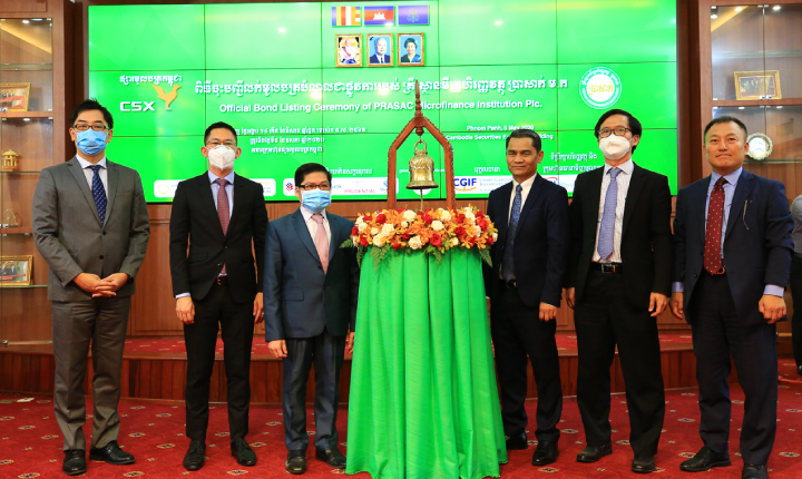 PRASAC Officially Lists Bond on the Cambodia Securities Exchange